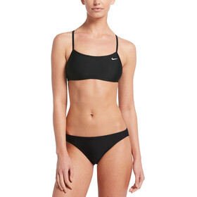 Nike Swim Solid Bikini Set Damen black
